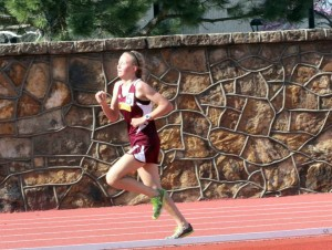 Cailie Logue ranks #1 in the state for the 1600 & 3200 meter runs. Her and seven other Lady Trojans are state bound.