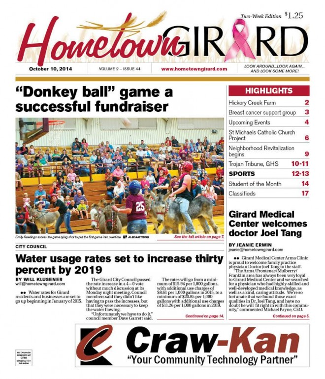 Front page – October 10, 2013 Edition