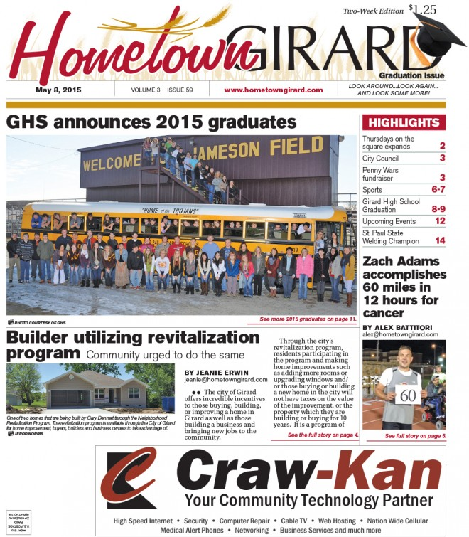 FRONT PAGE May 8, 2015