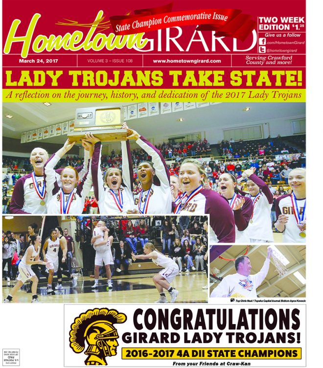 Front Page, State Champion Commemorative Issue. March 24, 2017