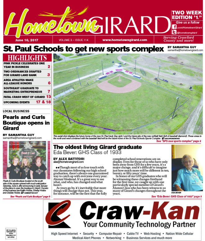 Front page: June 16, 2017