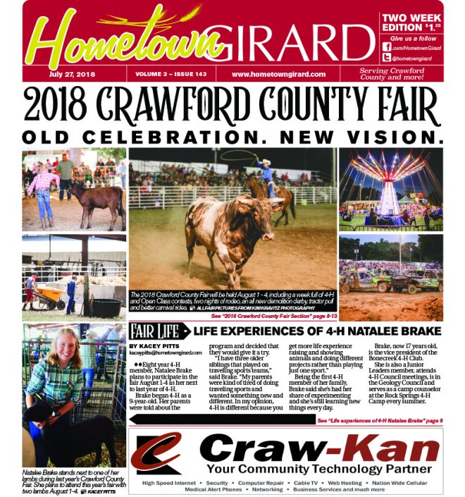 Front page: July 27, 2018