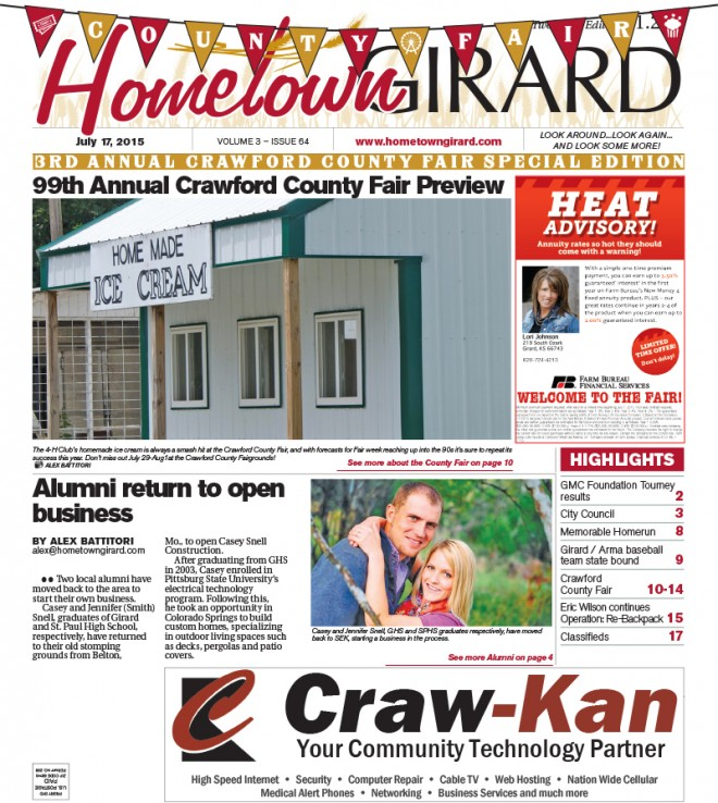 Front Page, July 17, 2015