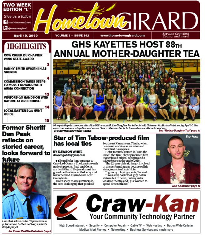 Front page: April 19, 2019
