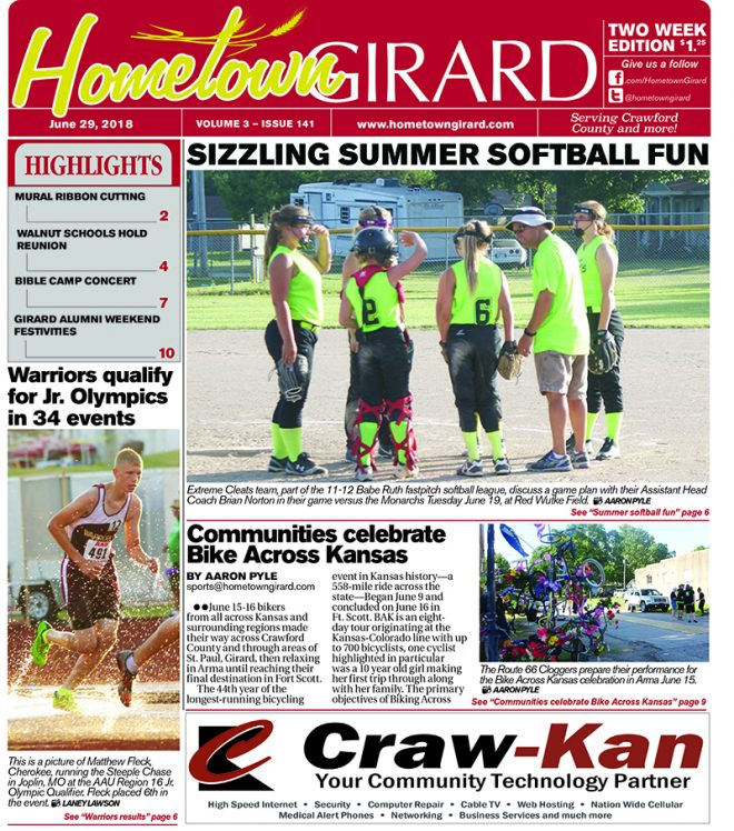 Front page: June 29, 2018
