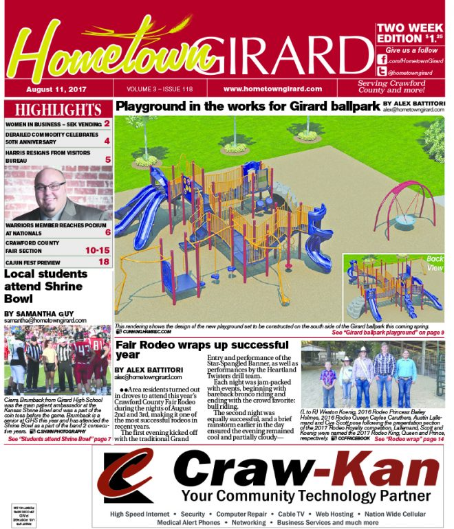 Front page: August 11, 2017