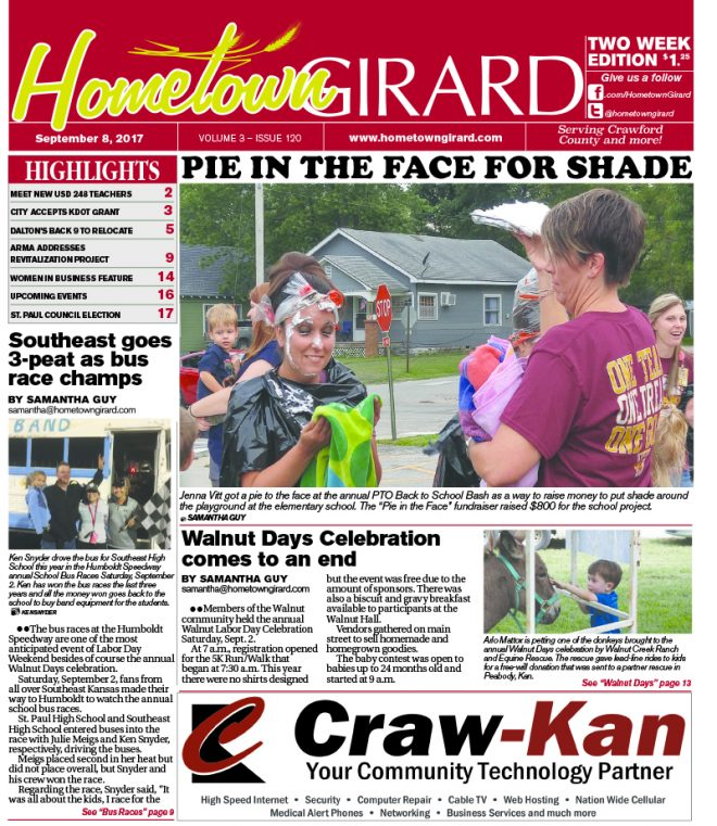 Front page: September 8, 2017
