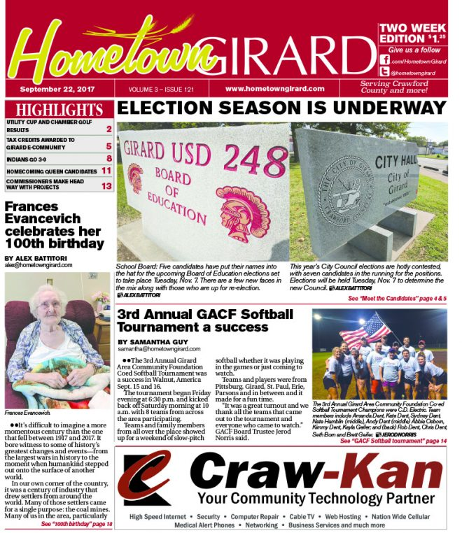 Front page: September 22, 2017