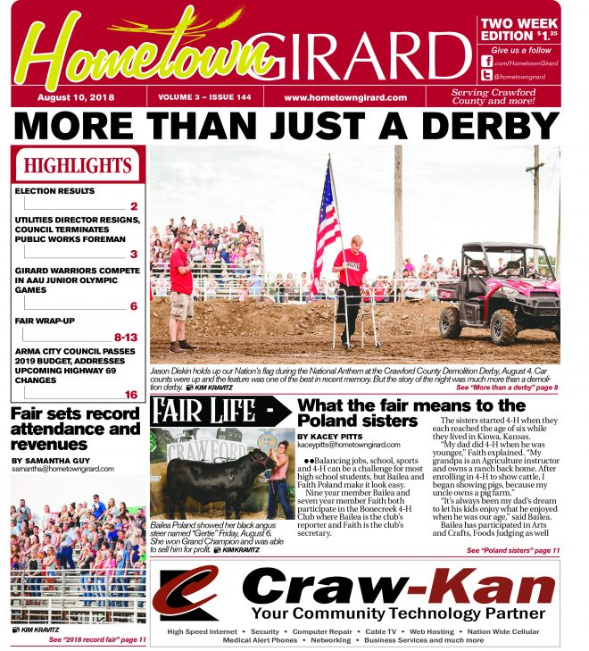 Front page: August 10, 2018