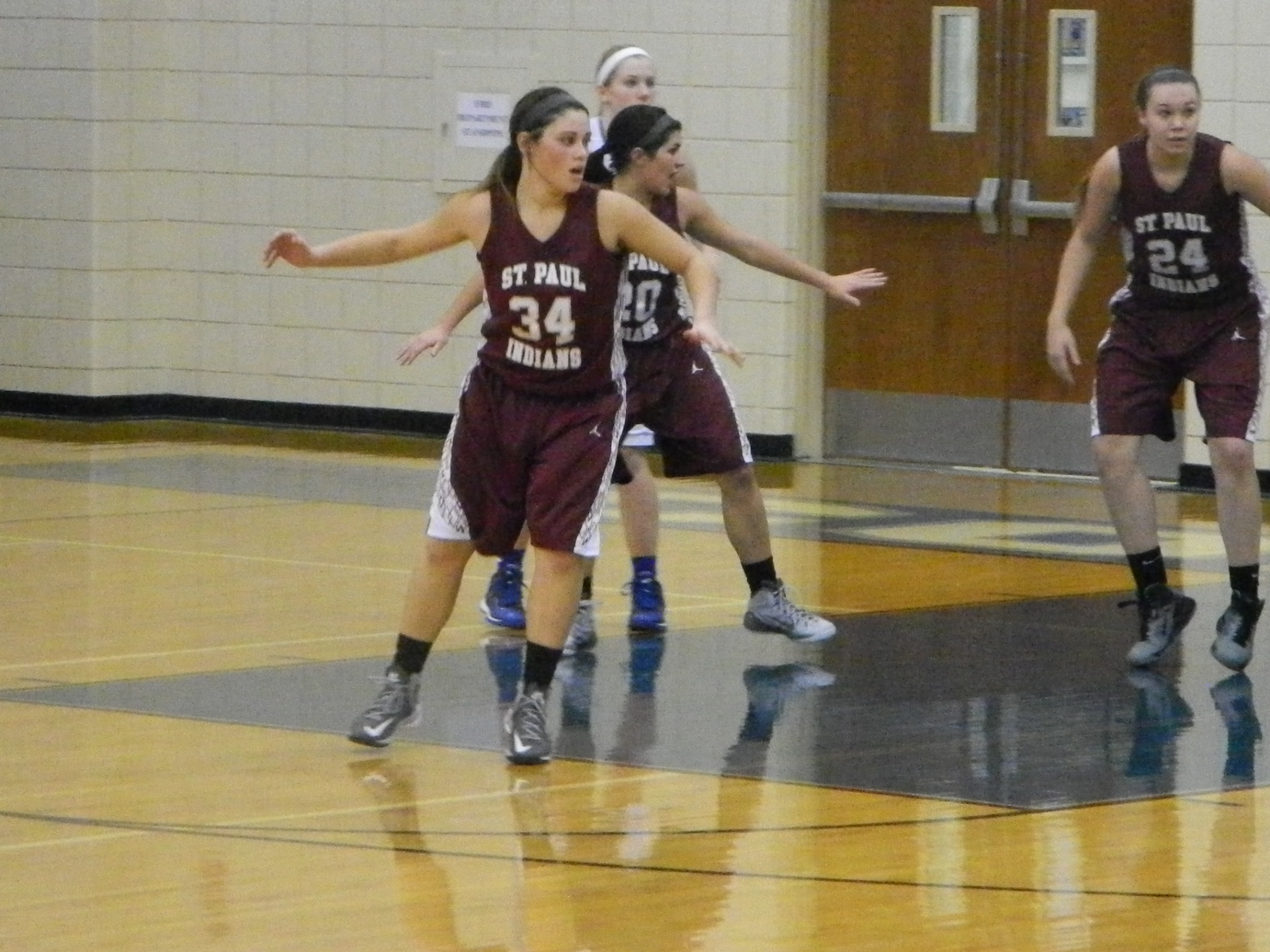 The Lady Indians fell to Colgan Monday night 45-39. Raquel Rice (pictured) had nine points.