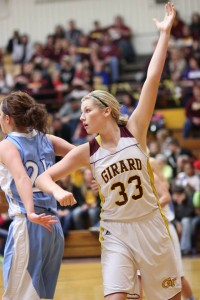 The Lady Trojans built an early lead, but lose to Southeast on homecoming night. PHOTO BY JOYCE KOVACIC